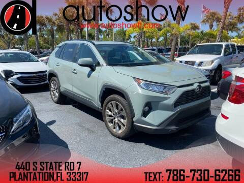 2019 Toyota RAV4 for sale at AUTOSHOW SALES & SERVICE in Plantation FL