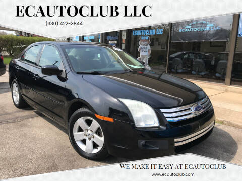 2008 Ford Fusion for sale at ECAUTOCLUB LLC in Kent OH