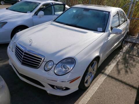 2009 Mercedes-Benz E-Class for sale at MCHENRY AUTO SALES in Modesto CA