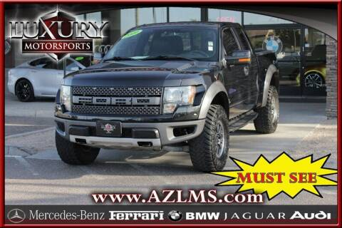 2010 Ford F-150 for sale at Luxury Motorsports in Phoenix AZ