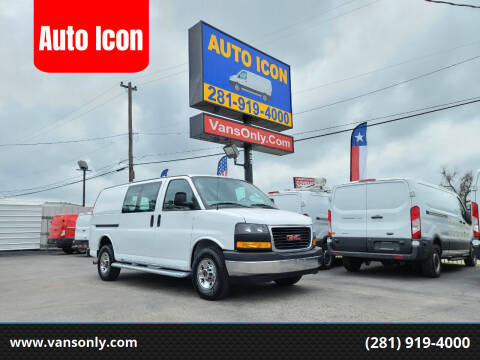 2018 GMC Savana Cargo for sale at Auto Icon in Houston TX