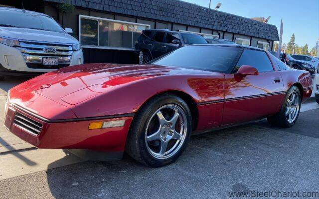 1990 Chevrolet Corvette for sale at Steel Chariot in San Jose CA