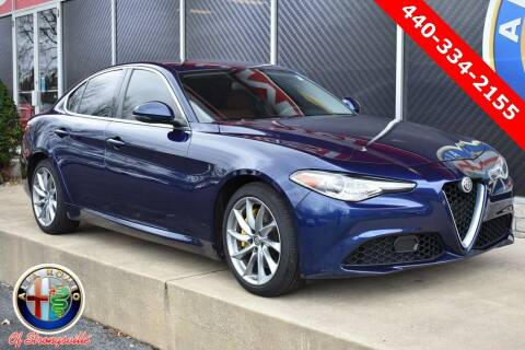 2017 Alfa Romeo Giulia for sale at Alfa Romeo & Fiat of Strongsville in Strongsville OH
