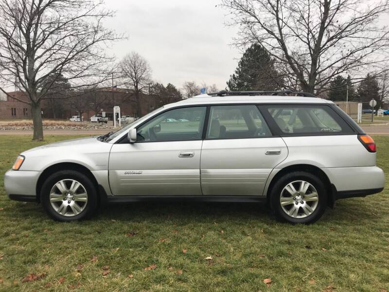 2004 Subaru Outback for sale at Motors Inc in Mason MI
