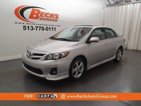 2012 Toyota Corolla for sale at Becks Auto Group in Mason OH