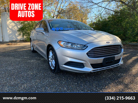 2013 Ford Fusion for sale at DRIVE ZONE AUTOS in Montgomery AL