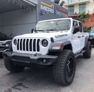 2020 Jeep Gladiator for sale at Meru Motors in Hollywood FL