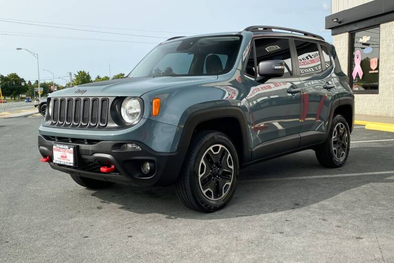 2016 Jeep Renegade 4x4 Trailhawk 4dr SUV - East Greenbush NY