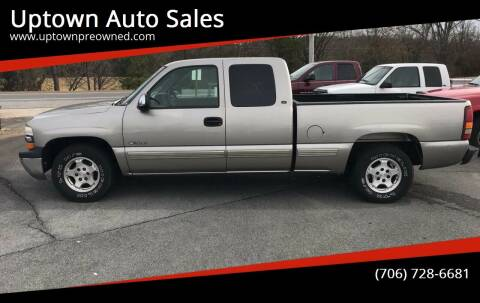 2000 Chevrolet Silverado 1500 for sale at Uptown Auto Sales in Rome GA