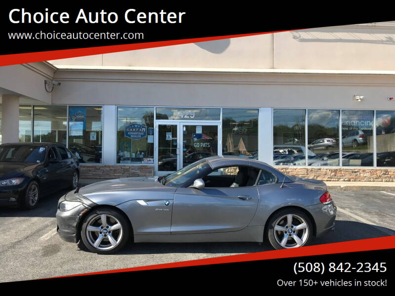 2009 BMW Z4 for sale at Choice Auto Center in Shrewsbury MA