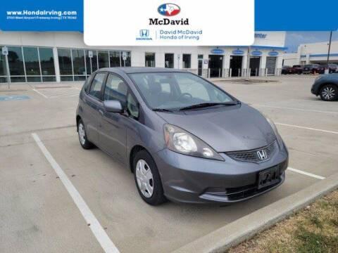 2013 Honda Fit for sale at DAVID McDAVID HONDA OF IRVING in Irving TX