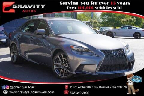 2016 Lexus IS 350 for sale at Gravity Autos Roswell in Roswell GA