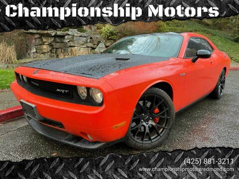 2008 Dodge Challenger for sale at Mudarri Motorsports - Championship Motors in Redmond WA