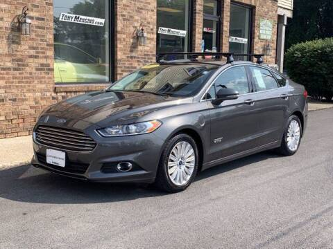 2016 Ford Fusion Energi for sale at The King of Credit in Clifton Park NY