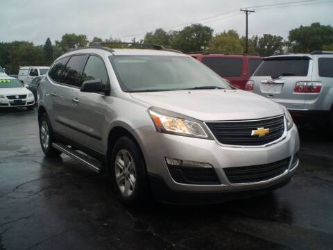 2014 Chevrolet Traverse for sale at BestBuyAutoLtd in Spring Grove IL