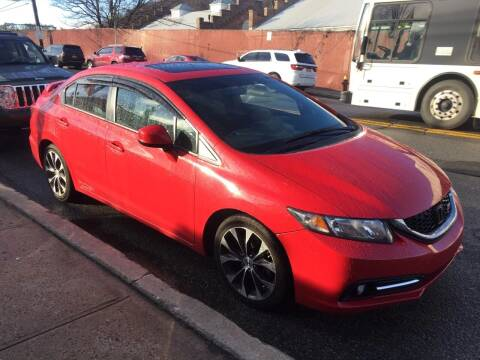 2013 Honda Civic for sale at White River Auto Sales in New Rochelle NY