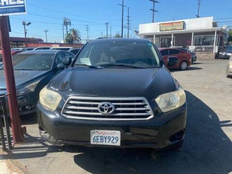2008 Toyota Highlander for sale at Affordable Auto Inc. in Pico Rivera CA