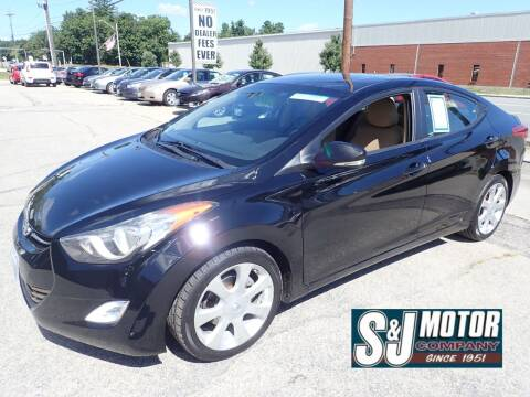 2012 Hyundai Elantra for sale at S & J Motor Co Inc. in Merrimack NH