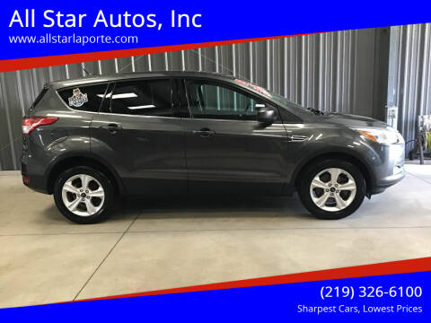 2015 Ford Escape for sale at All Star Autos, Inc in La Porte IN