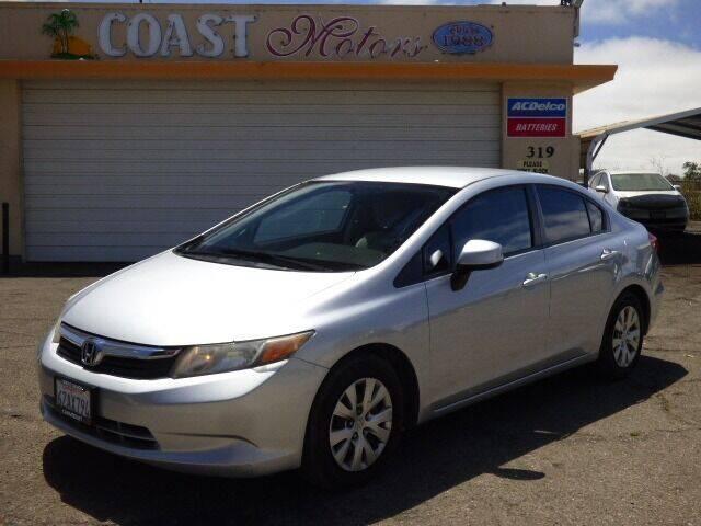 2012 Honda Civic for sale at Coast Motors in Arroyo Grande CA