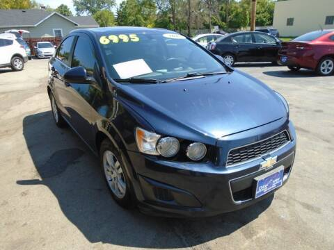 2015 Chevrolet Sonic for sale at DISCOVER AUTO SALES in Racine WI