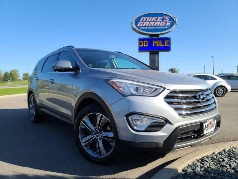 2015 Hyundai Santa Fe for sale at Monkey Motors in Faribault MN