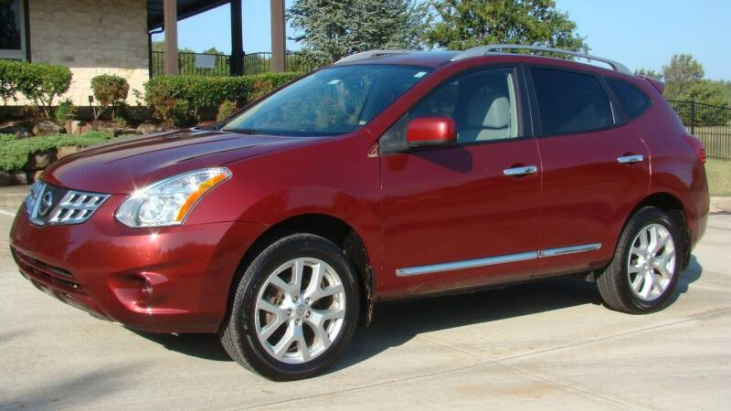 2011 Nissan Rogue for sale at Red Rock Auto LLC in Oklahoma City OK