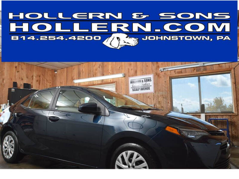 2018 Toyota Corolla for sale at Hollern & Sons Auto Sales in Johnstown PA