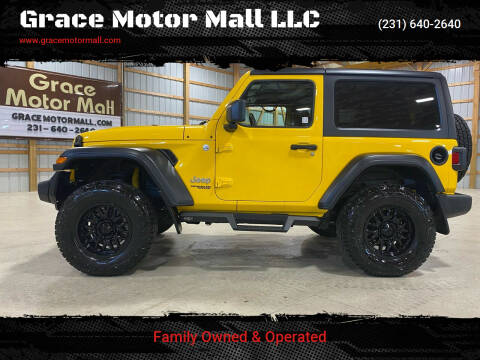 2019 Jeep Wrangler for sale at Grace Motor Mall LLC in Traverse City MI