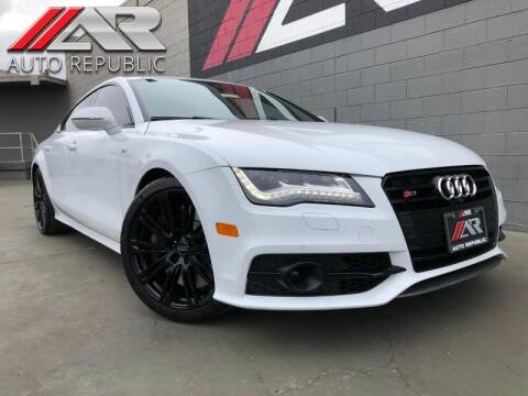 2014 Audi S7 for sale at Auto Republic Fullerton in Fullerton CA