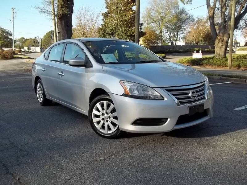 2014 Nissan Sentra for sale at CORTEZ AUTO SALES INC in Marietta GA