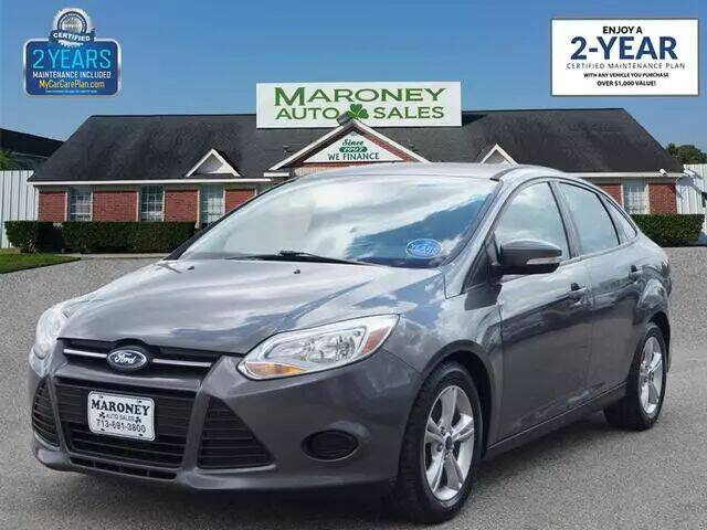 2014 Ford Focus for sale at Maroney Auto Sales in Humble TX