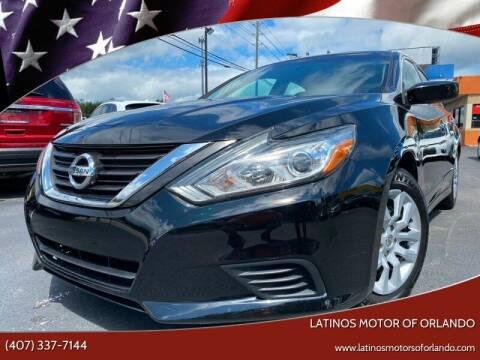 2016 Nissan Altima for sale at LATINOS MOTOR OF ORLANDO in Orlando FL