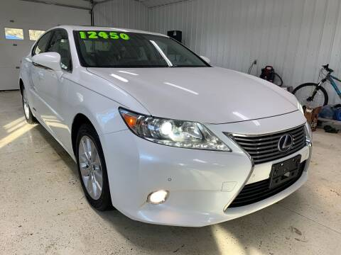 2013 Lexus ES 300h for sale at SMS Motorsports LLC in Cortland NY