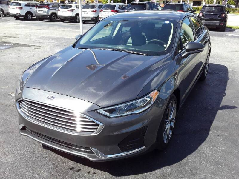 2020 Ford Fusion for sale at YOUR BEST DRIVE in Oakland Park FL