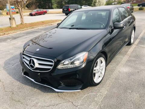 2014 Mercedes-Benz E-Class for sale at Atlanta Motor Sales in Loganville GA