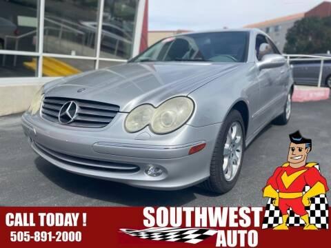 2003 Mercedes-Benz CLK for sale at SOUTHWEST AUTO in Albuquerque NM