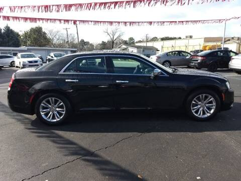 2016 Chrysler 300 for sale at Kenny's Auto Sales Inc. in Lowell NC