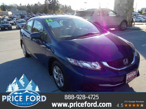 2014 Honda Civic for sale at Price Ford Lincoln in Port Angeles WA