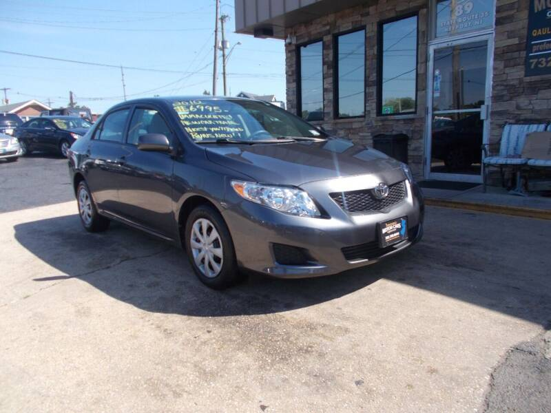 2010 Toyota Corolla for sale at Preferred Motor Cars of New Jersey in Keyport NJ