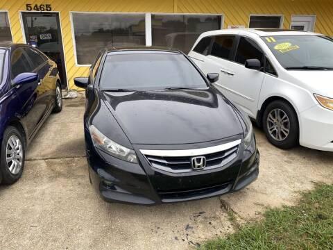 2012 Honda Accord for sale at THE COLISEUM MOTORS in Pensacola FL
