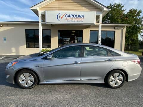 2015 Hyundai Sonata Hybrid for sale at Carolina Auto Credit in Youngsville NC