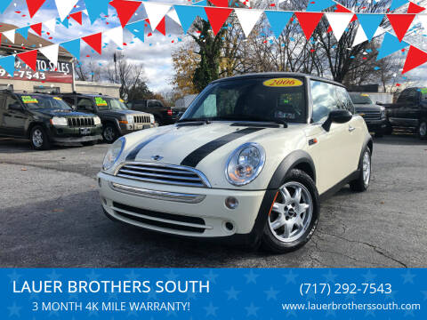 2006 MINI Cooper for sale at LAUER BROTHERS SOUTH in York PA