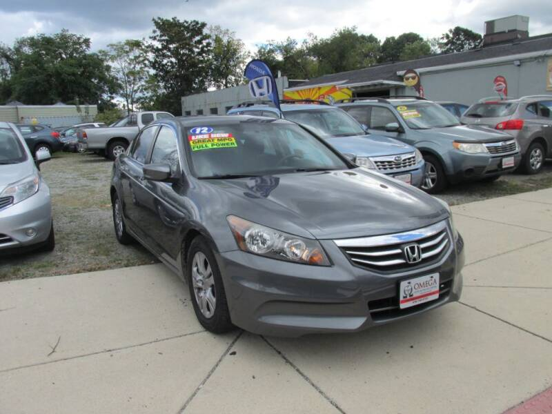 2012 Honda Accord for sale at Omega Auto & Truck Center, Inc. in Salem MA