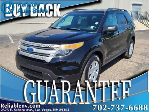 2012 Ford Explorer for sale at Reliable Auto Sales in Las Vegas NV