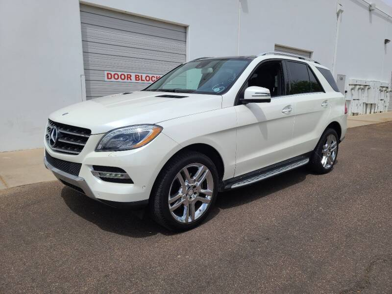 2013 Mercedes-Benz M-Class for sale at NEW UNION FLEET SERVICES LLC in Goodyear AZ