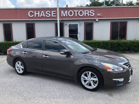 2015 Nissan Altima for sale at Chase Motors Inc in Stafford TX