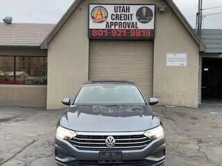 2019 Volkswagen Jetta for sale at Utah Credit Approval Auto Sales in Murray UT