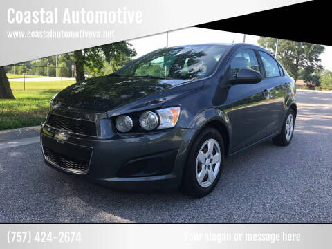 2013 Chevrolet Sonic for sale at Coastal Automotive in Virginia Beach VA