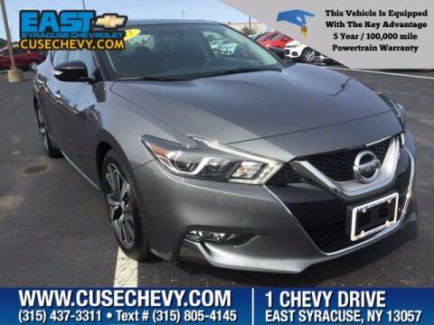 2017 Nissan Maxima for sale at East Syracuse Performance Sales & Service in Syracuse NY